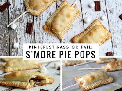Pinterest Pass or Fail: S'More Pie Pops