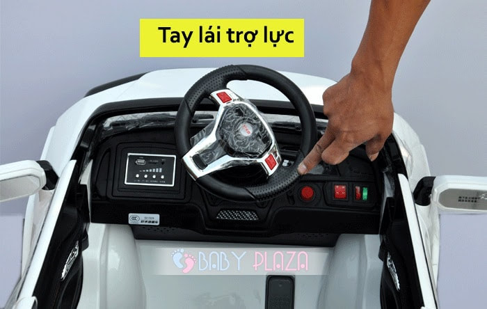 Ô tô điện trẻ em SX-1528 4 cửa mở 20
