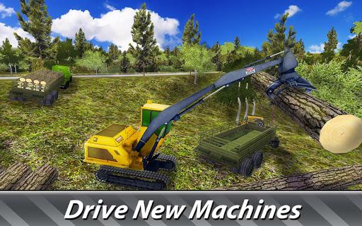 Logging Harvester Truck 1.4 screenshots 2