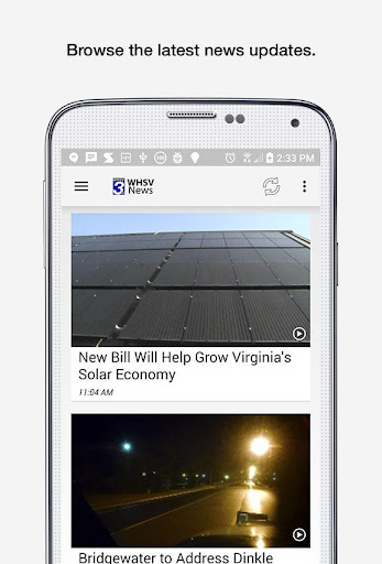 WHSV News for PC