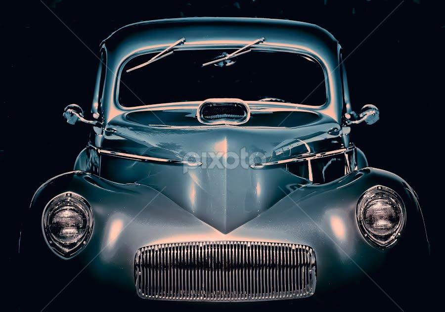 Car Show by Mark Turnau - Transportation Automobiles