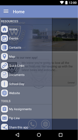 android Windermere Secondary Screenshot 1