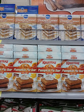 Photo: A whole display of pumpkin foods. The Pumpkin caramel delight looked good.
