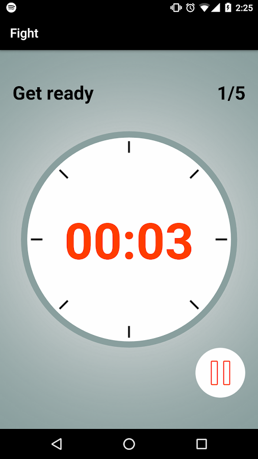 Boxing Round Interval Timer- screenshot