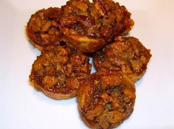 Sweet William's Spirited Pecan Tassies