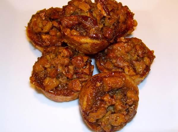Sweet William's Spirited Pecan Tassies Recipe