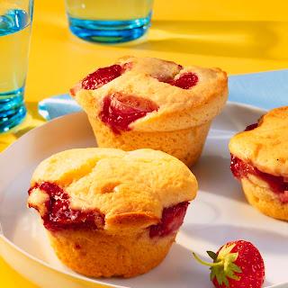 Erdbeer-Ricotta-Muffins