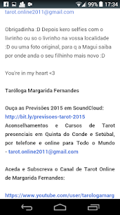 Taróloga Margarida Fernandes- screenshot thumbnail