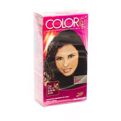 tinte slik color efect kit 4 castano medio