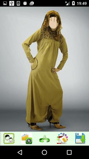 Hijab Abaya Photo Montage 1.4 screenshots 3