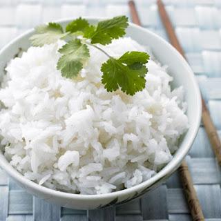 Coconut Infused Jasmine Rice.