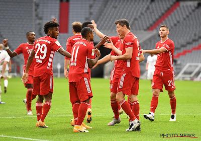 Heerlijke namiddag Duits voetbal met veel goals levert Bayern toch nog geen koppositie op
