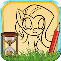 Time Draw for My Little Pony icon