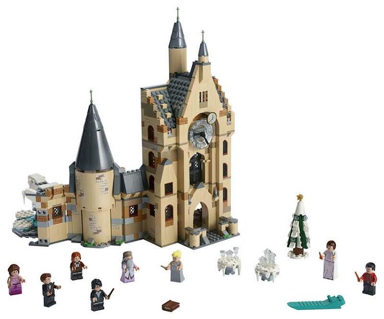 Contenido de Lego® 75948 Torre del Reloj de Hogwarts™