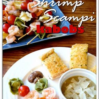 Shrimp Scampi Kabobs