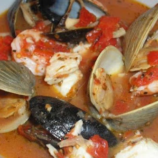 Easy Cioppino for Two