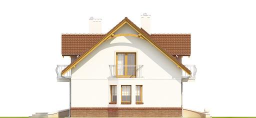 Dom Dla Ciebie 1 w3 z garażem 2-st. A1 - Elewacja lewa
