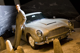 "Photo: There was a marvellous ""50 years designing Bond"" exhibition in Barbican centre (no photos allowed inside)"