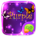 (FREE) GO SMS PURPLE THEME icon