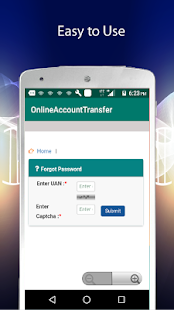 EPF Account Transfer - náhled