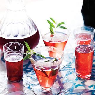 Sparkling Sour Cherry Aperitivo.