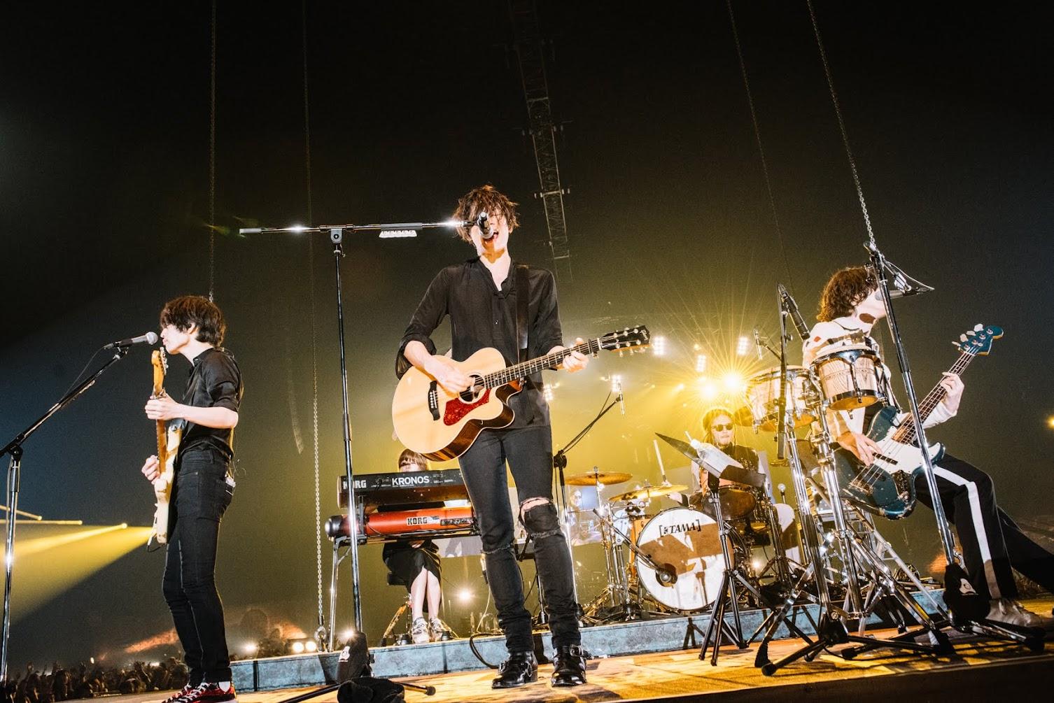 【迷迷現場】[Alexandros] 日本巡迴終場登上埼玉超級競技場 「就算變成糟老頭,我們都會繼續玩音樂直到死去的那一刻!」