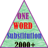 ONE WORD SUBSTITUTION  {2000+}