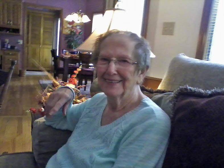 Aunt Vera, October 1, 2016