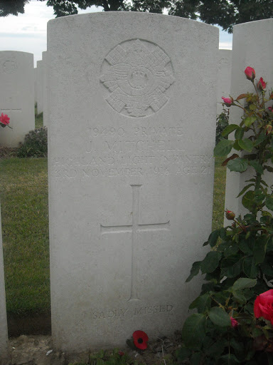 Joseph Mitchell grave
