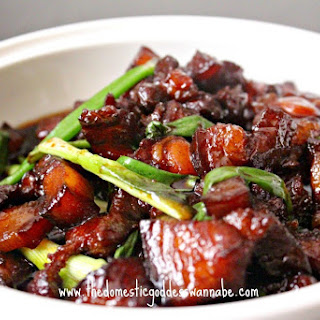 Shanghai Style Braised Pork Belly (紅燒肉).