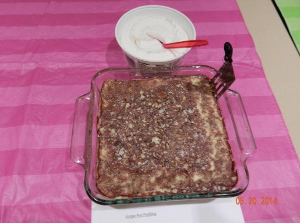 Grape-nuts Pudding Recipe
