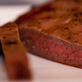 Bison Flank Steak Marinade.