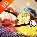 HD Wallpaper: Pokeball Arts icon