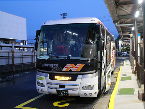 南海バス「サザンクロス」酒田線 ・477 酒田庄交バスターミナル改札中 その1