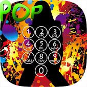 Pop Music Lock Screen