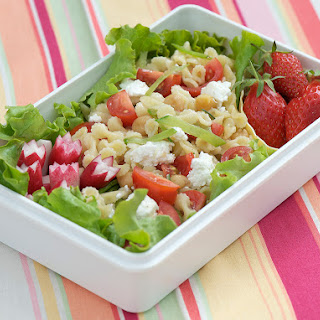 Spring Chickpea Pasta Salad