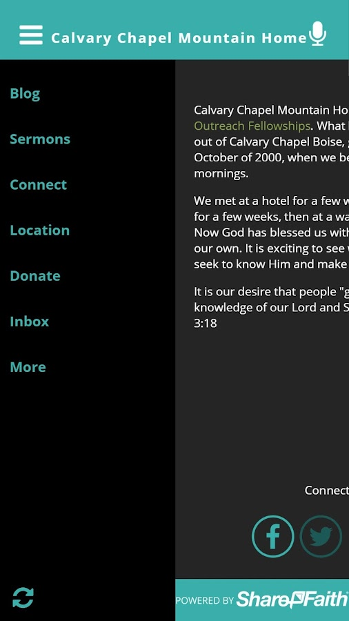 Calvary Chapel Mountain Home- screenshot