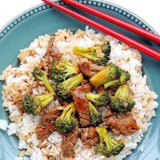 Our Favorite Skillet Beef and Broccoli
