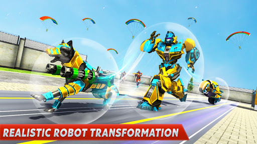Dog Robot Transform Moto Robot Transformation Game filehippodl screenshot 9