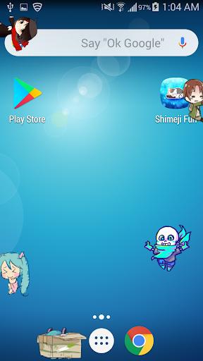 Shimeji Friends  screenshots 7