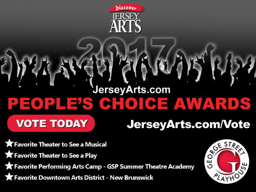 Vote for GSP in the 2017 Discover Jersey Arts People`s Choice Awards