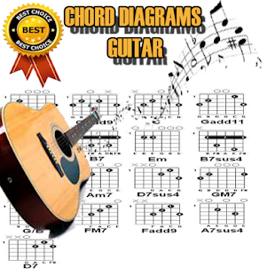 CHORD DIAGRAMS GUITAR COMPLETE - náhled