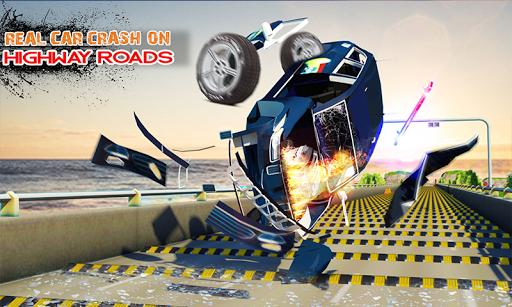 Deadly Car Crash Engine Damage: Speed Bump Race 18 screenshot 4