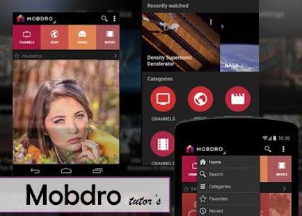Download TV Mobdro Special Guide Apk 1 1,com comebackpro