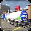 Cattle Farming Milk Transport icon