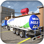 Cattle Farming Milk Transport