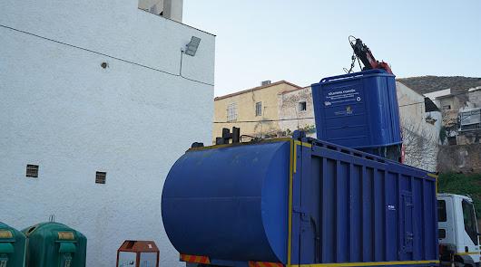 Recogidas en Berja 28 toneladas de papel y cartón durante el año pasado