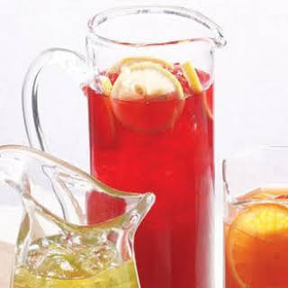 Hibiscus-Pomegranate Iced Tea.