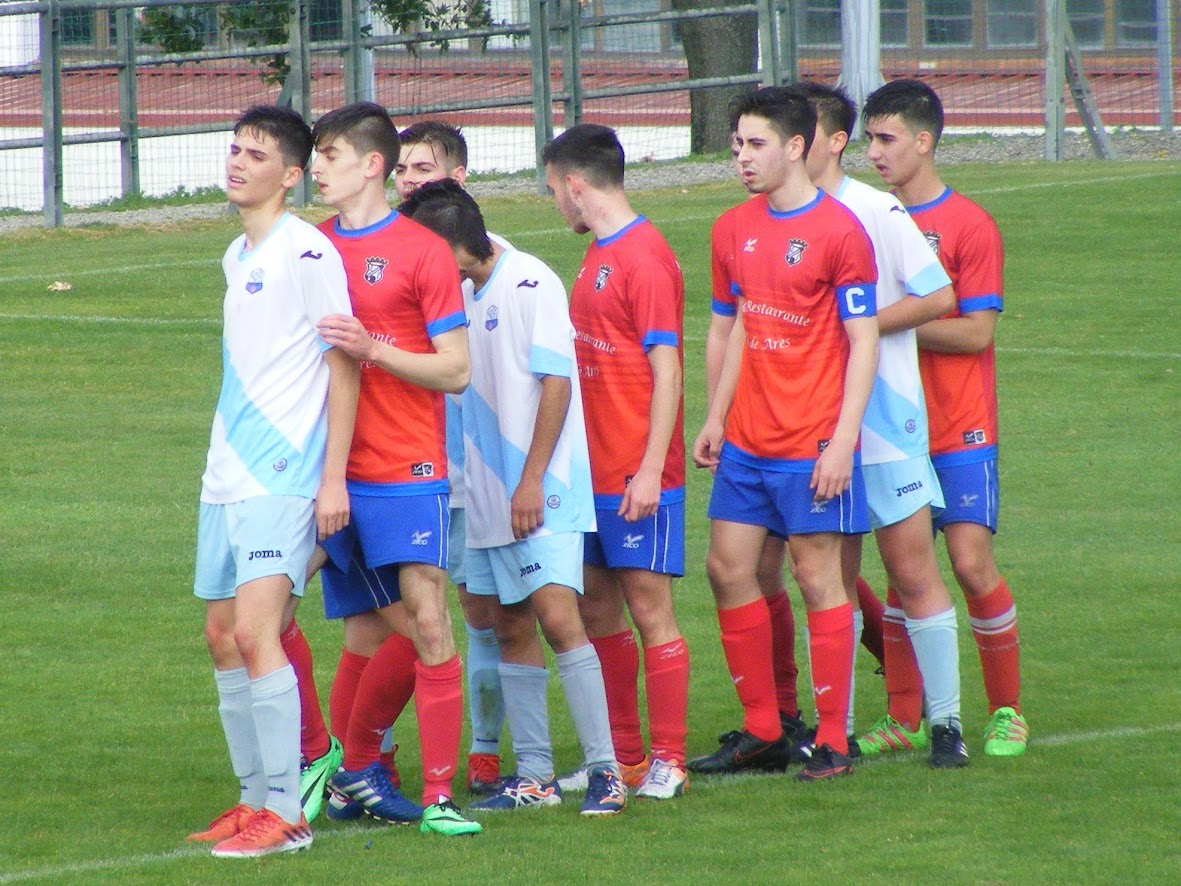 ADR Numancia de Ares. Juveniles 2016-2017. Final de copa. G.Caranza B, 2 - Numancia, 0
