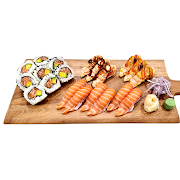 48. Large Salmon Sushi